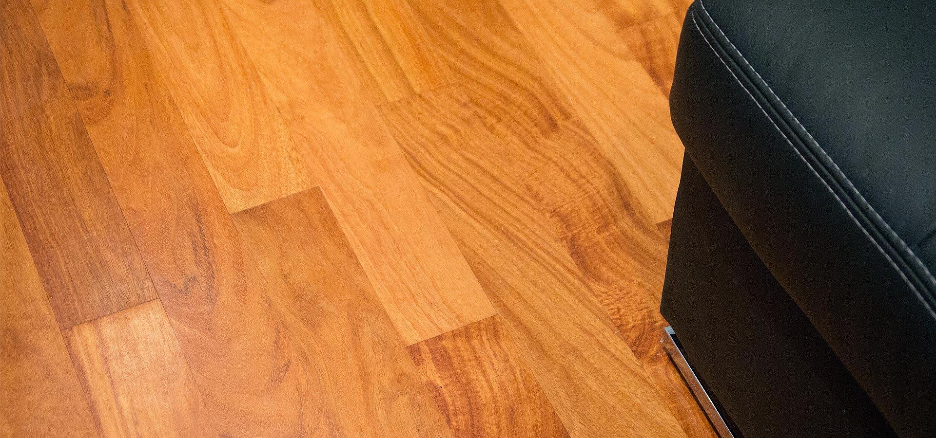 Підлога з екзотичної деревини