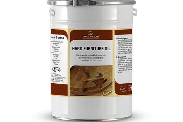 Олія для меблів підвищеної твердості HARD FURNITURE OIL BORMA WACHS