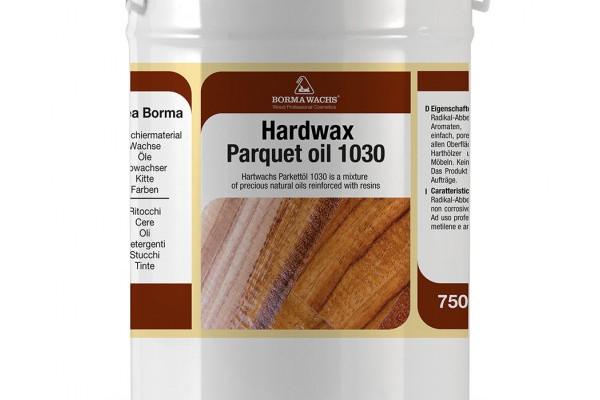 Олія для паркету воскова HARDWAX PARQUET OIL 1030 BORMA WACHS