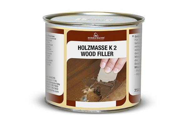Двокомпонентна поліефірна шпаклівка HOLZMASSE K2 BORMA WACHS