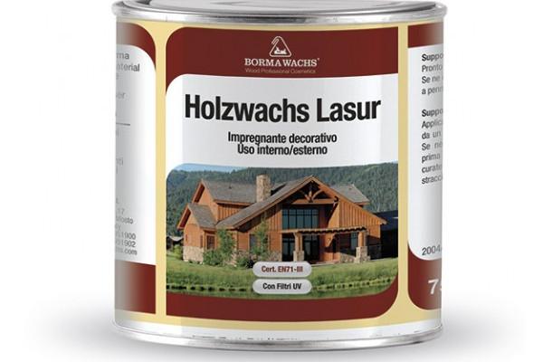 Олія-імпрегнант HOLZWACHS LASUR BORMA WACHS (кольорована)