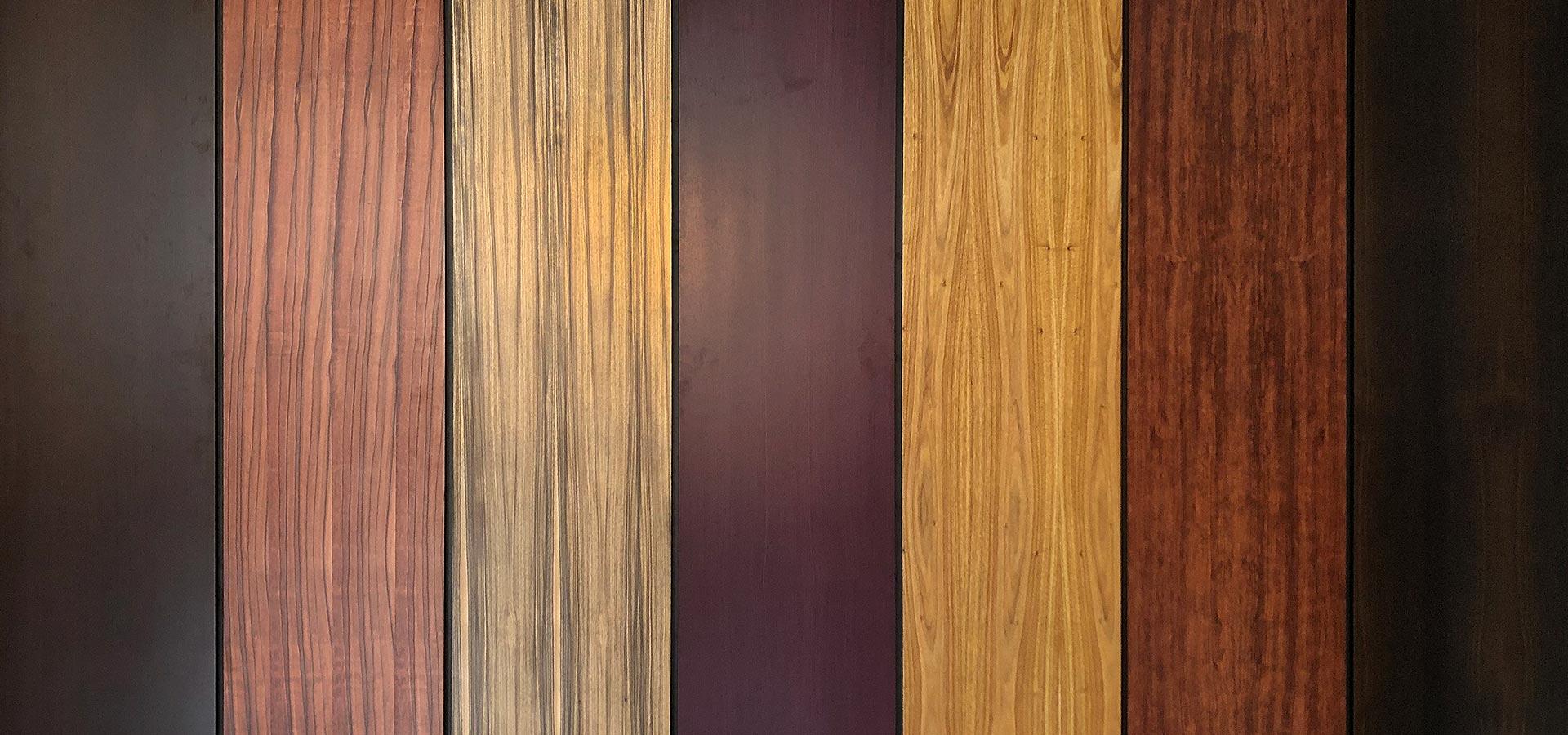 Натуральні шпони екзотичної деревини